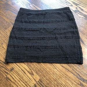 Forever 21  ❥ beautiful black mini skirt
